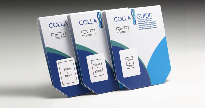 CollaGuide® is available in 3 practical sizes